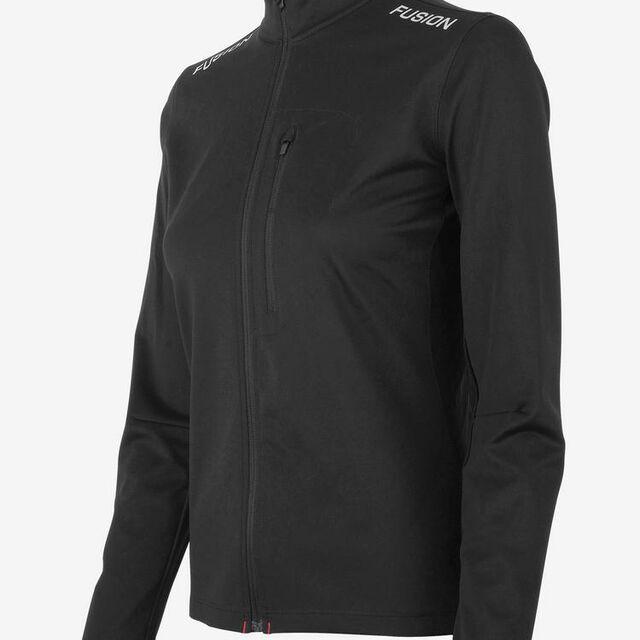 Fusion Women S2 Run Jacket (Schwarz)