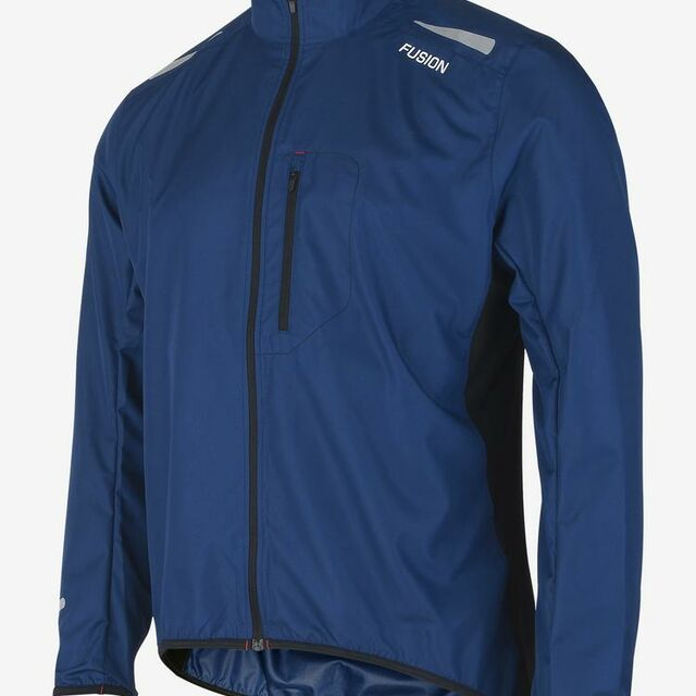 Fusion S1 Run Jacket (Surf Blue)