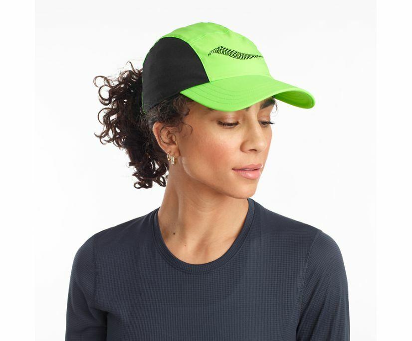 Saucony Outpace Hat (Grün/Grün)